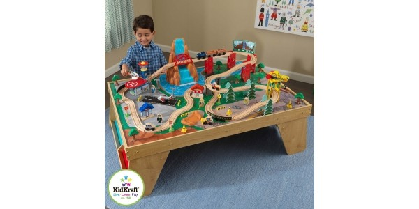 KidKraft Airport Waterfall Station Set And Table £49.99 with Free Delivery @ Costco