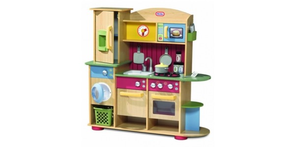 Little Tikes Premium Cooking Creations Wooden Kitchen Now £100 (was £169.99) @ Amazon/Tesco Direct
