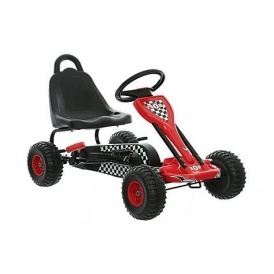 Black & Red Go Kart £25 @ Halfords
