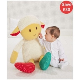GIANT Woolly Lamb £10 ELC
