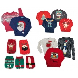 Christmas Jumpers From £5.99 @ Aldi
