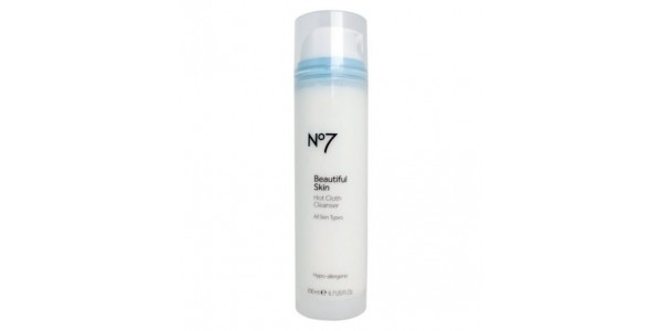 No7 Beautiful Skin Hot Cloth Cleanser £10 for THREE @ Boots.com