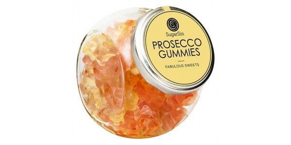 Sugarsin Prosecco Gummy Bears 250g Jar £6.50 @ John Lewis
