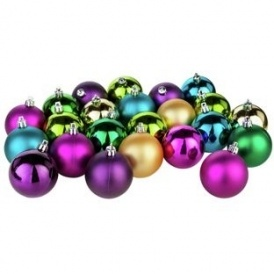 Pack Of 48 Christmas Baubles £2.79 @ Argos