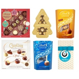 3 for £10 On Boxed Chocolate Gifts @ Asda