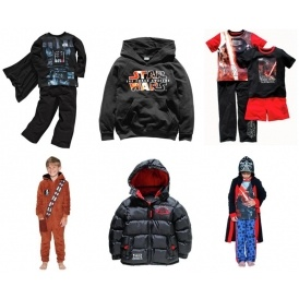 Big Savings On Star Wars Clothing @ Argos