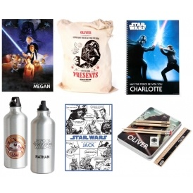 NEW Personalised Star Wars Gifts & Tesco