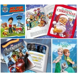 Personalised Story Books £8.61 Delivered