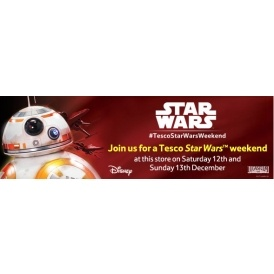 FREE Star Wars Weekend Events in Tesco