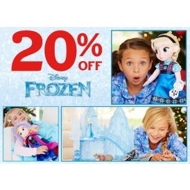 20% Off Frozen @ Disney Store