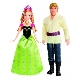 Frozen Anna And Kristoff Dolls £14 @ Amazon
