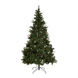 7ft 6ins Decorated Christmas Tree £15 B&Q