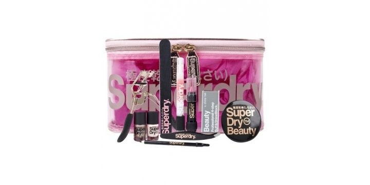 Superdry Professional Vanity Case And Beauty Collection U00a322.50 @ Boots.com