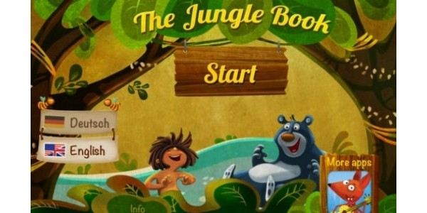 (EXPIRED) The Jungle Book Storybook Reading For Kids App FREE @ iTunes