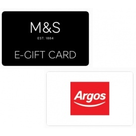 £25 M&S or Argos Gift Card For £20
