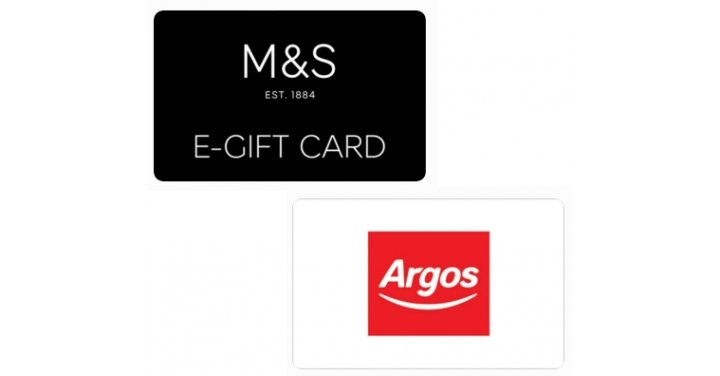 25 m s or argos gift card for 20 using code o2 gift. Black Bedroom Furniture Sets. Home Design Ideas