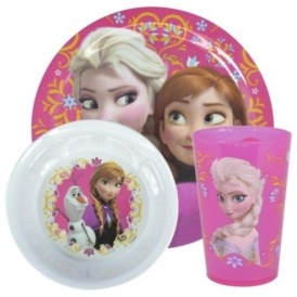 Frozen Melamine Dinner Set £2 Tesco
