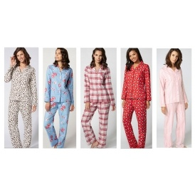 Ladies Pyjamas in a Bag Now £12 Was £32