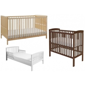 Cots, Cot Beds & Toddler Beds From £39