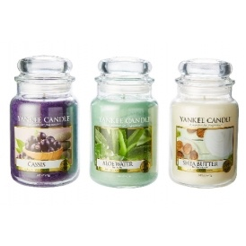 3 Large Yankee Candle Jar's £43 @ Very