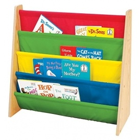 Wooden Book Storage Rack £15.99 @ Amazon