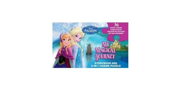 Frozen Story Book & Puzzle £2 Delivered @ Tesco Direct