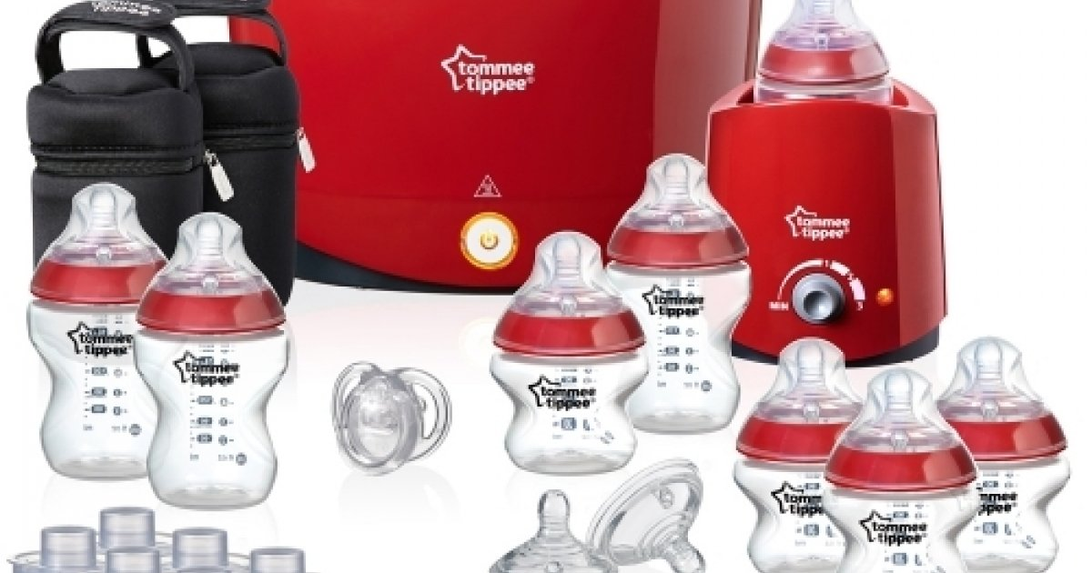 tommee tippee closer to nature red essentials kit  u00a374 99 delivered   babies r us