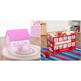 London Bus / Dolls House Toy Box £10 Off