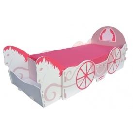 Horse Carriage Single Bed & Storage £97.49