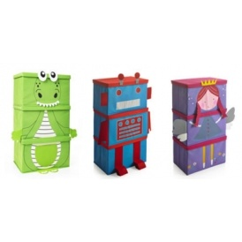 Kids Stacking Storage Boxes 3 For £10