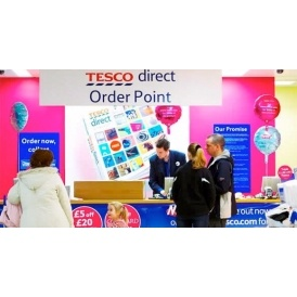 Tesco Introduce Click & Collect Charges