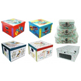 Mix & Match Storage Boxes 2 for £10