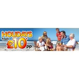 Holidays From £10 Per Person @ BreakFree