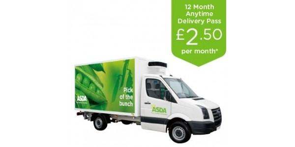 Half Price Delivery Pass: Now From £2.50 @ Asda