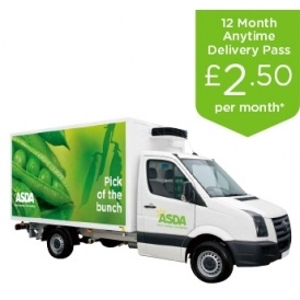 Half Price Delivery Pass @ Asda