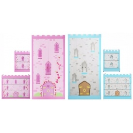 princess or knight 3 piece bedroom furniture set £143.99 @ argos