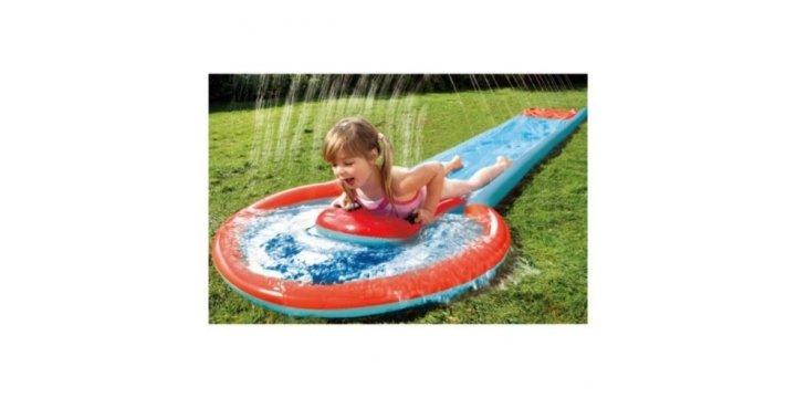 Tesco water slider other outdoor bargains tesco for Garden pool tesco
