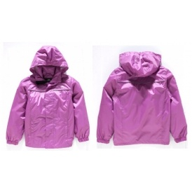 Trespass Girl's Purple Shell Jacket £4.99