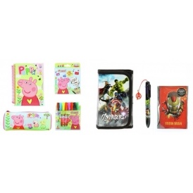 Peppa Pig / Avengers Stationery £4.99