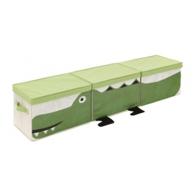 Set of 3 Crocodile Storage Boxes £12