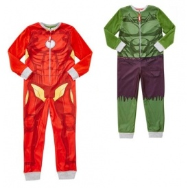 Iron Man / Hulk Reversible Onesie From £8