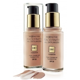 3 Max Factor Foundations For £16.98!