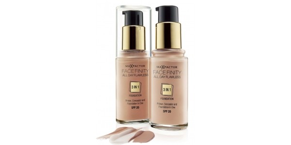 Overlapping Offers! Max Factor Face Finity Foundation THREE For £16.98 @ Boots.com