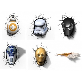 Star Wars 3D Lights £23.99 Delivered