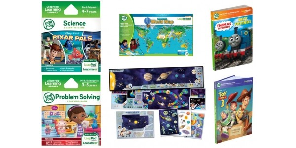 50% Off Selected LeapFrog Games & Accessories @ Amazon