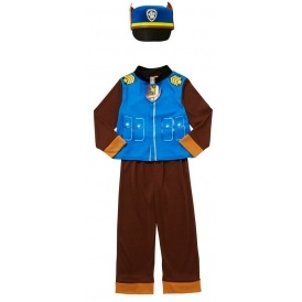 Paw Patrol Chase Fancy Dress Outfit