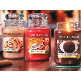 3 Large Yankee Candle Jars £40