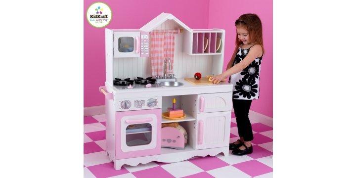 Kidkraft modern country kitchen set delivered amazon for Kitchen set toys amazon