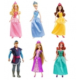 Disney Princess Sparkle Dolls From £5.99