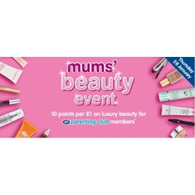 Mums' Beauty Event TODAY ONLY @ Boots